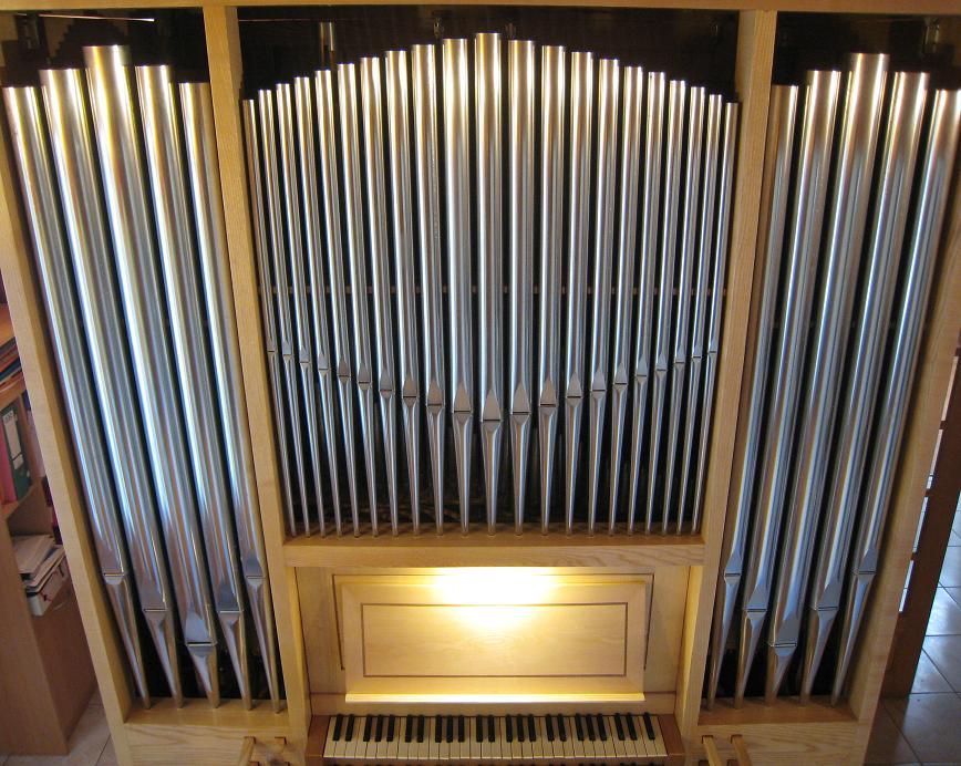 My homemade pipe organ for Photo de salon